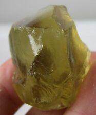 187.25ct Brazil Natural Rough CLEAN Lemon Quartz Citrine Crystal Specimen 37.45g