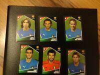 Panini Euro 2004 Stickers Cards Italy Pirlo Buffon Del Piero Zanetti Etc Mint