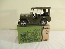 NOS 1959 TONKA JEEP COMMANDER with BOX never played with - OUTSTANDING