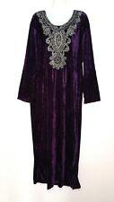 Abaya Maxikleid arabisches Kleid Winterkleid Jellabiya Djelaba Gr. L - 3XL