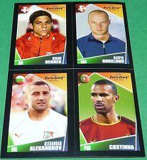 # 104 167 156 12 BERNER BOGELUND ALEXANDROV PANINI FOOTBALL EURO 2004 POCKET