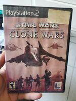 starwars the clone wars ps2 playstation 2 complete tested working disney