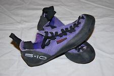 Stealth C4 climbing shoes Women's Size: 6.5 Purple/Black
