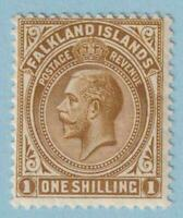 FALKLAND ISLANDS 35 MINT HINGED OG * NO FAULTS EXTRA FINE !