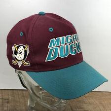 Vintage Men's Anaheim MIGHTY DUCKS Sports Specialties Snapback adjustable Hat T