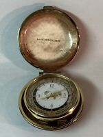 Vintage Westclox World Time Travel Alarm Clock