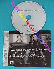 CD singolo Vanessa St.James & Lou Reed Sunday Morning ARP 21115 CDS IT 2003(S30)