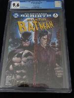 All Star Batman #1 Tyler Kirkham Color Variant Midtown Comics Edition Dc CGC 9.6