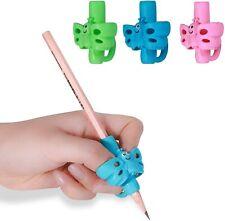 Pencil Grips For Kids Handwriting Pack Of 3, Grip Pencils School Supplies Holder