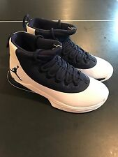 NIKE AIR JORDAN MENS 9 ULTRA FLY 2 TB BASKETBALL SHOES WHITE/NAVY 921211 401 S3