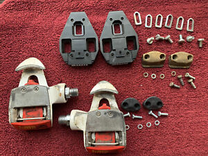 Vintage TIME Cycling EQ MAG Multireflex Clipless Road Race Bicycle Pedals Cleats