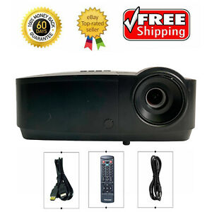 InFocus IN124x DLP Projector Conference Room Full HD 3D 4200 ANSI 1080p w/bundle