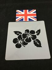 Flower And Leaves Stencil For Cake Decorating