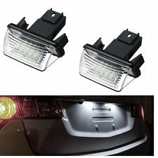 ECLAIRAGE PLAQUE LED PEUGEOT 307 308 1 406 407 BREAK SW 207 PARTNER 1 2 BLANC