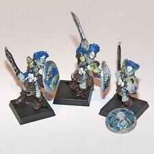 Marauder Elfo Oscuro Troopers in metallo in miniatura Donna Vintage CITTADELLA Fantasy Battle