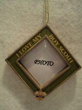 "KSA ""BOY SCOUTS OF AMERICA"" Photo Frame Ornament ~ NEW ~ Great Gift Idea"