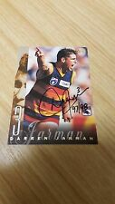 Adelaide Crows DARREN JARMAN HAND SIGNED 1998 SELECT CARD PREMIERS 1997 1998