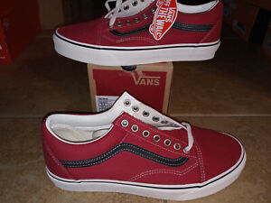 NEW Mens Vans Old Skool Shoes, size 9                  chili pepper
