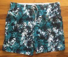 Zeroxposur Men's Swim Suit Bathing XXL Hawaii Blue Swimwear New without tags