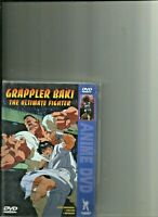 Grappler Baki the Ultimate Fighter Gently Used Anime DVD Dual Language