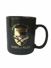 International Association Of Chiefs Of Police 100 Yrs Coffee Cup - 4 Inches Tall
