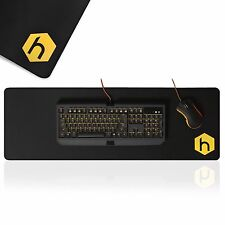 HEX Gaming Mouse Mat Pad Pro Extended Extra Large Black Anti Slip Big Size Desk