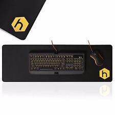 Hex Gaming Mouse Mat Pad Pro extendido Extra Grande Negro Antideslizante EscritorioPercivalChristopherWrende   las deMaryAmbreeelinglés
