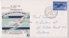 Stamp Australia 4c Life Saving WCS Wesley brand FDC enhanced by Hawker uncommon