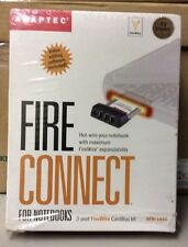 ADAPTEC FIRE CONNECT 3 PORT FIREWIRE CARDBUS KIT AFW-1430 FOR NOTEBOOKS