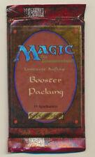 Magic the Gathering MTG REVISED FBB Black Border Sealed BOOSTER PACK *CCGHouse*
