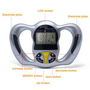 Fat Meter Tester LCD Calculator Digital Body Fat Analyzer Health Care Monitor