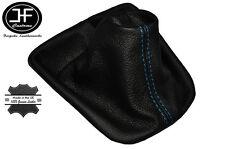 BLUE STITCH LEATHER MANUAL GEAR GAITER FITS PEUGEOT 207 CC HDI GTI SW GLX XS L