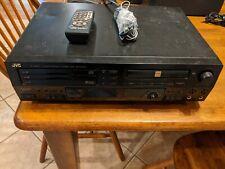 JVC Compact Disc CD Player RECORDER XL-R5000BK w/remote.