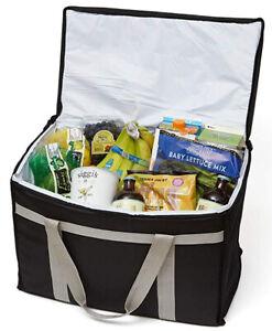Defendir Insulated Food Delivery Bag Hot & Cold Travel Storage Ubereats doordash