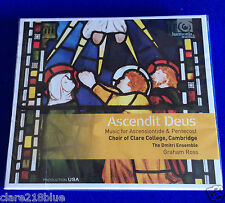 Ascendit Deus Ascensiontide & Pentecost Choir of Clare College CD 2015 Nuevo