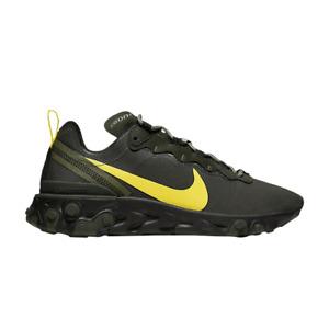 Nike Oregon Ducks React Element 55 College Shoes CK4797-300 Size Men's 9 New