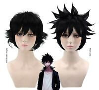 Dragon Ball Super Saiyan Black Anime Party Short Hair Full Wig Wigs