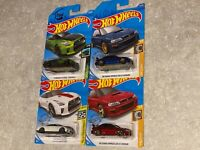 ⭐️Hot Wheels Subaru Impreza 22B STi Nissan gt-r 35 2020 50 GUACZILLA LOT OF 4⭐️