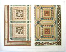 1850 Lewis Gruner Specimens Ornamental Art Mantua folio chromolithograph
