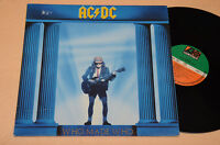 AC DC LP WHO MADE WHO ORIG GERMANY PRESS EX !