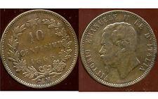 ITALIE   ITALY   10 centesimi  1866 M