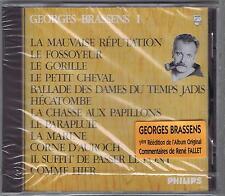 CD (NEUF) GEORGES BRASSENS LA MAUVAISE REPUTATION 1