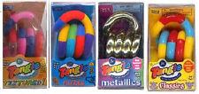 4 TANGLE Jr Fidget Sensory Toy ADHD AUTISM Textured Metallic Fuzzy lCassic SPED