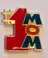 7 Pin Lot Mother's Day #1 MOM Baby Lapel Hat  Pins!