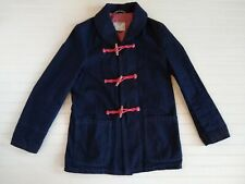 Schott Perfecto Brand Toggle Coat Mens Size M White Oak Cone Dark Denim Jacket