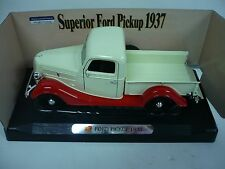SUPERIOR FORD PICKUP 1937, 1:24 SCALE, DIE CAST METAL, MIB