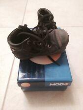 Chaussures enfant Mod 8 Quarte Antik Taille 24 Couleur Noir / Velours acier