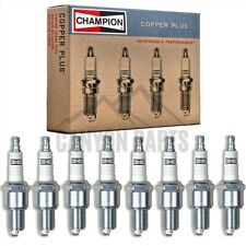 New 8pc Champion Copper Spark Plugs for 1971-1974 Dodge W200 Pickup 5.9L V8