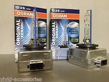 2X NEW OEM 2PCS OSRAM XENARC D3S 66340 ORIGINAL 6000K HID XENON LIGHT BULBS