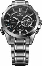 Casio Edifice Black Label Bluetooth Solar Stainless Steel Watch EQB510D-1A